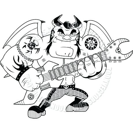 460x460 Heavy Metal Coloring Book Also Metal Cats Coloring Book Is A