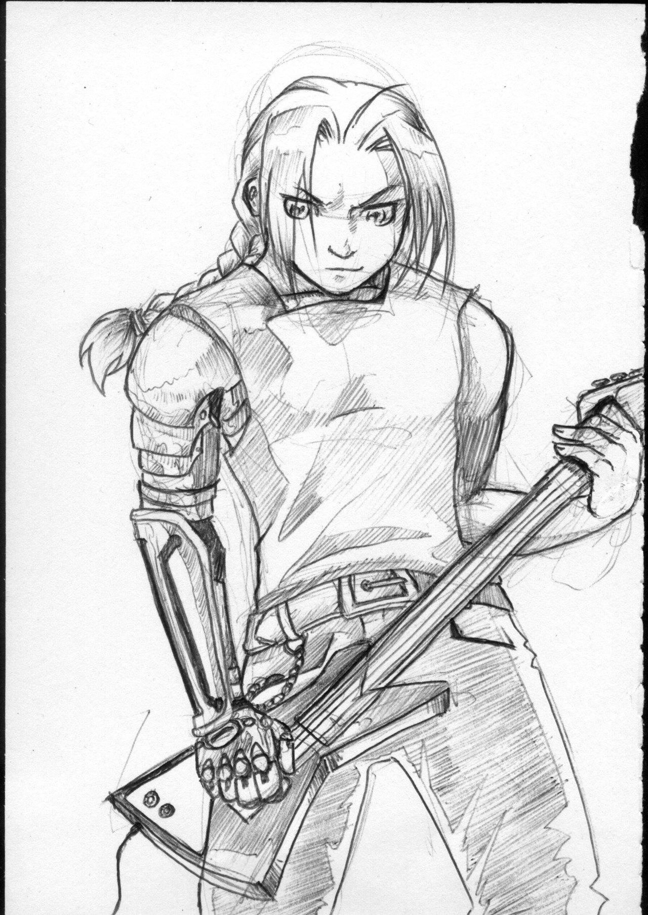 1280x1807 Heavy Metal Alchemist Sketch By Sofie3387