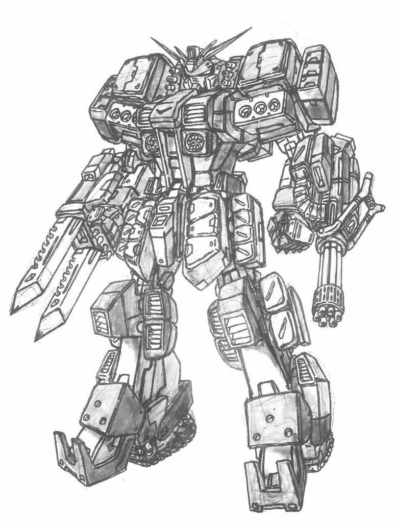 774x1032 Heavy Metal Gundam By Hopeyouguessedmyname