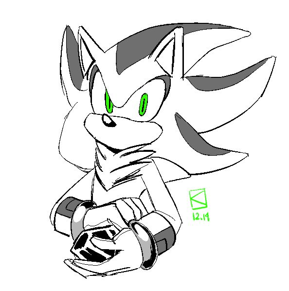 594x598 Draw Mephiles Due November 3 D Sonic The Hedgehog