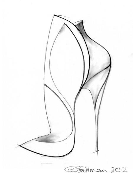 Heel Drawing