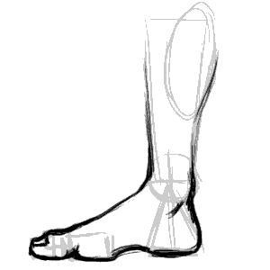 300x300 Ping Art Ping Teo's Art Journal Study Drawing The Human Foot
