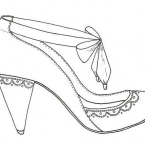 290x290 Shoes Drawing Designs And Sketches Shoes Drawing Designs Model