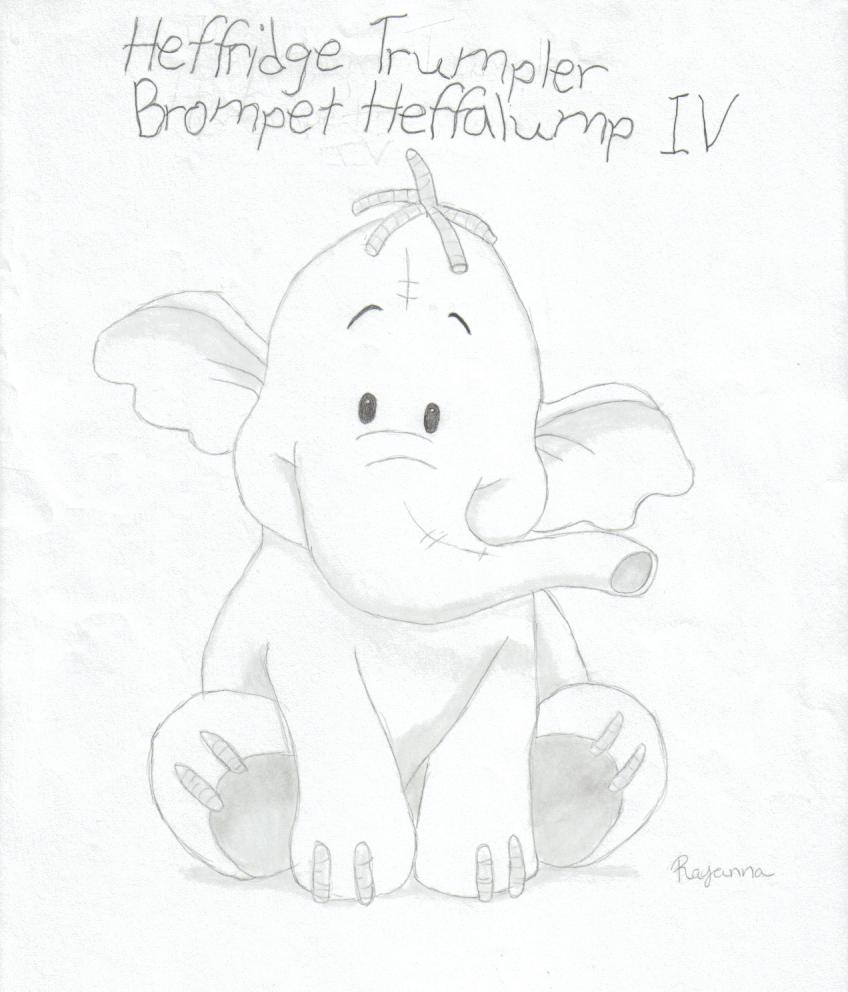 848x992 Lumpy The Heffalump 2 By Rayannabanana