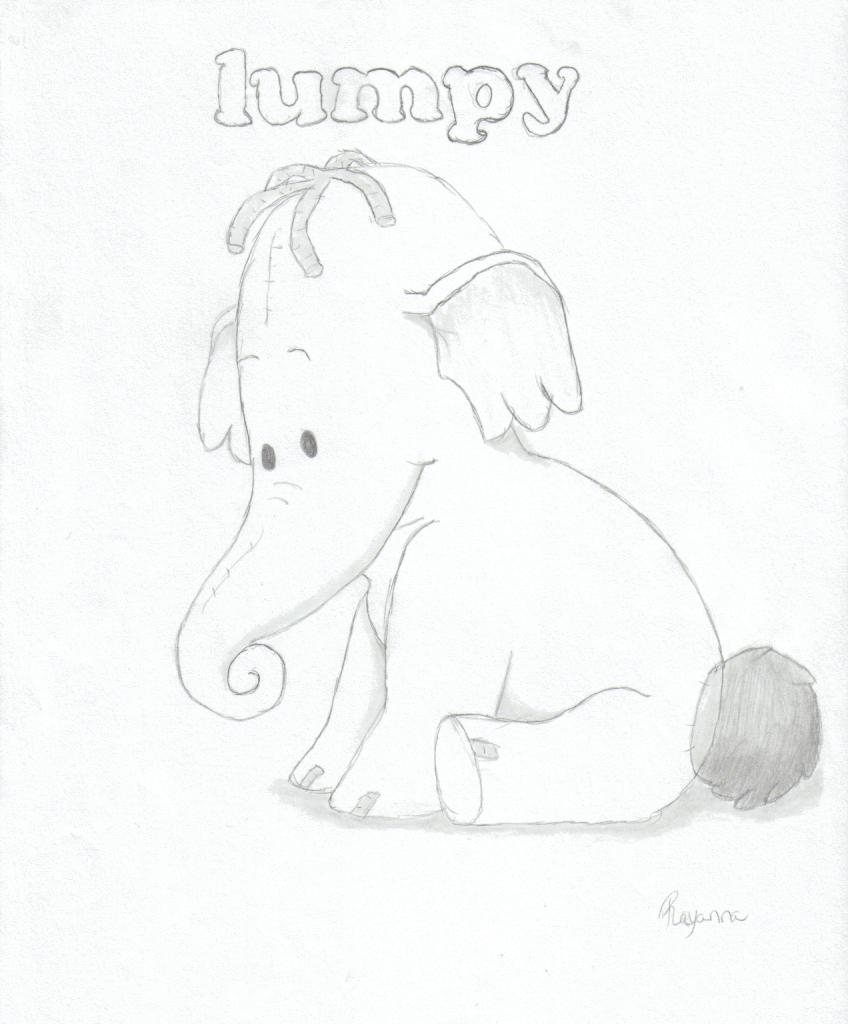848x1024 Lumpy The Heffalump By Rayannabanana