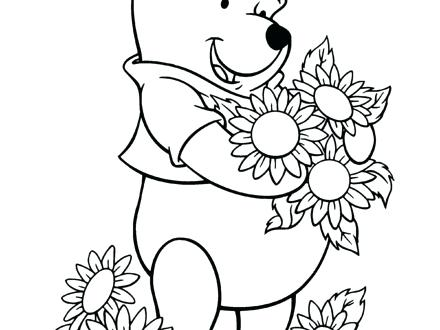 440x330 Pooh Coloring Pages Pooh Coloring Pages Online Genesisar.co