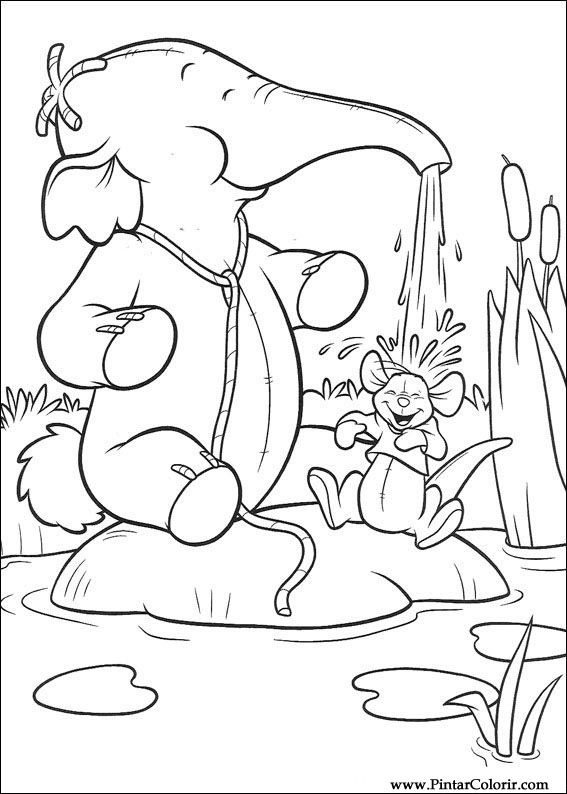 567x794 Drawings To Paint Amp Colour And The Pooh Heffalump