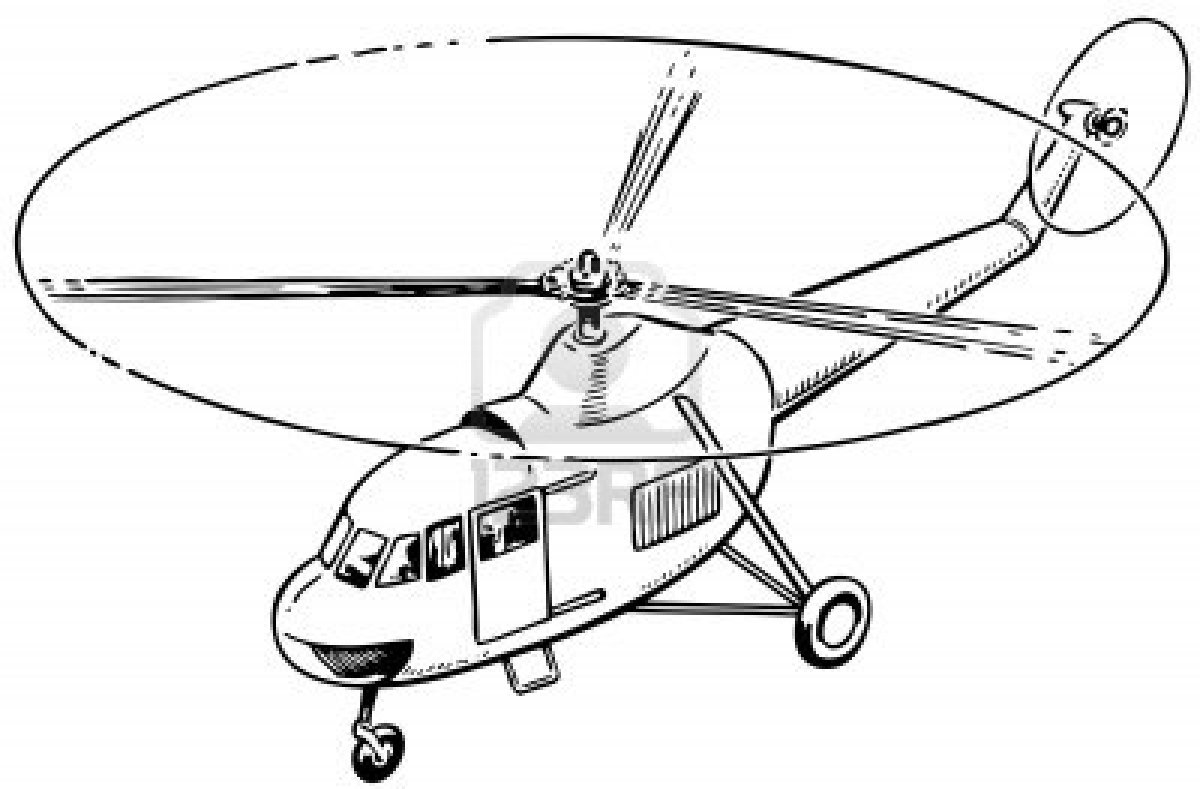 1200x789 Helicopter Coloring Pages