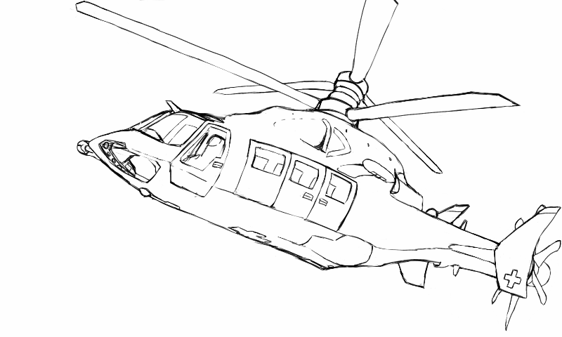 800x480 Helicopter Future Design By Swissleo