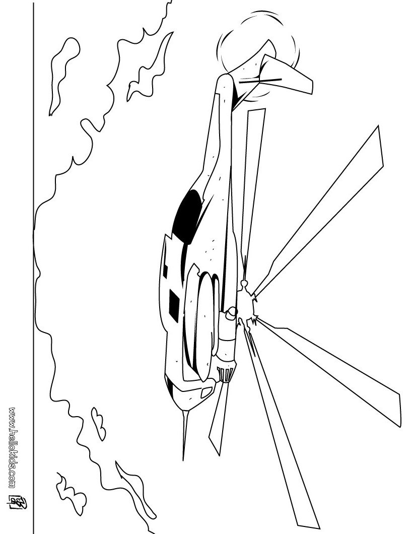 820x1060 Helicopter Coloring Pages, Drawing For Kids, Videos For Kids