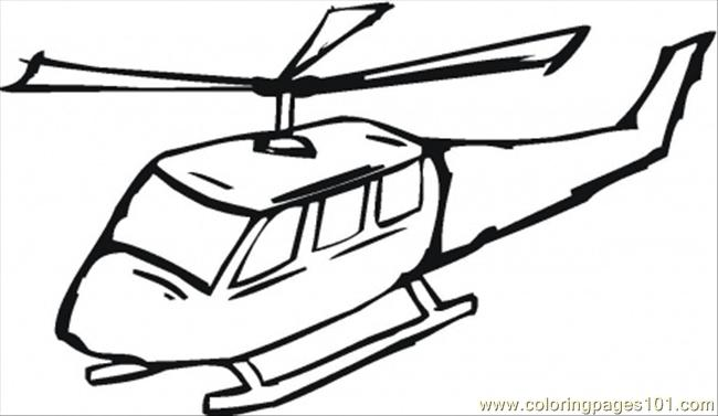 650x377 Helicopter Printable Coloring Page For Kids And Adults