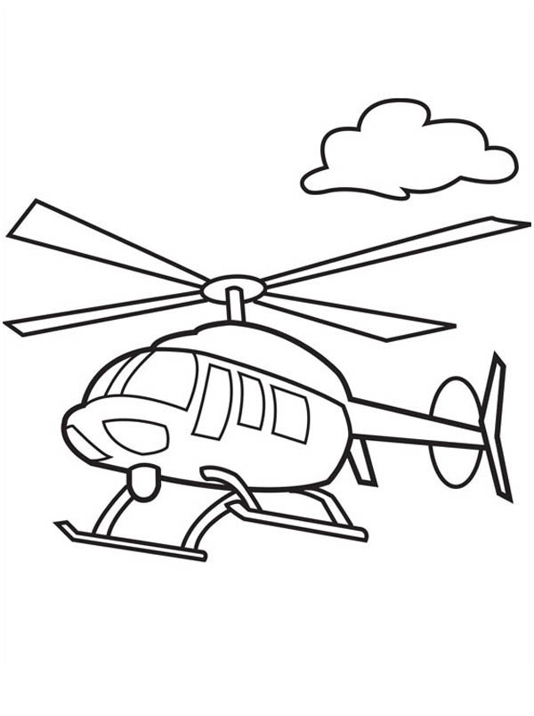 Helicopter Drawing For Kids at GetDrawings.com | Free for personal ...