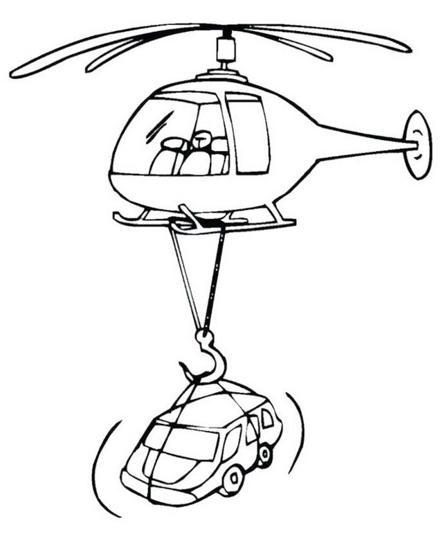 640x778 The New Super Fun Helicopter Coloring Pages For Kids And Adults