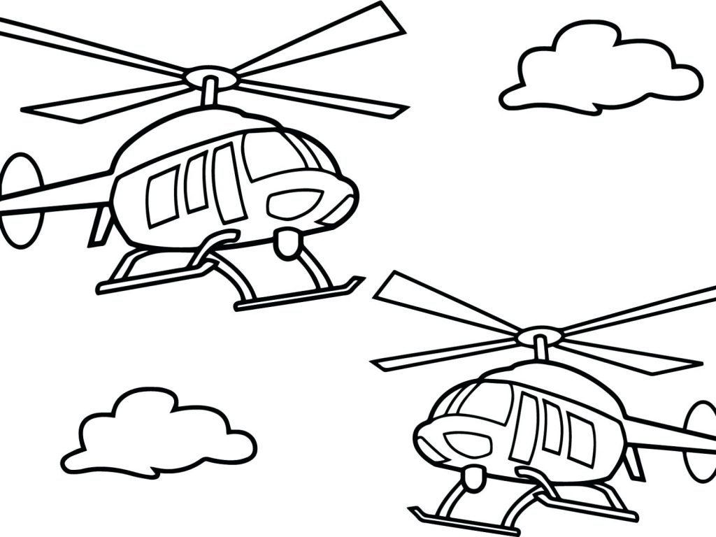 1024x768 Coloring Page ~ Helicopter Coloring Page Ambulance Look Real Best