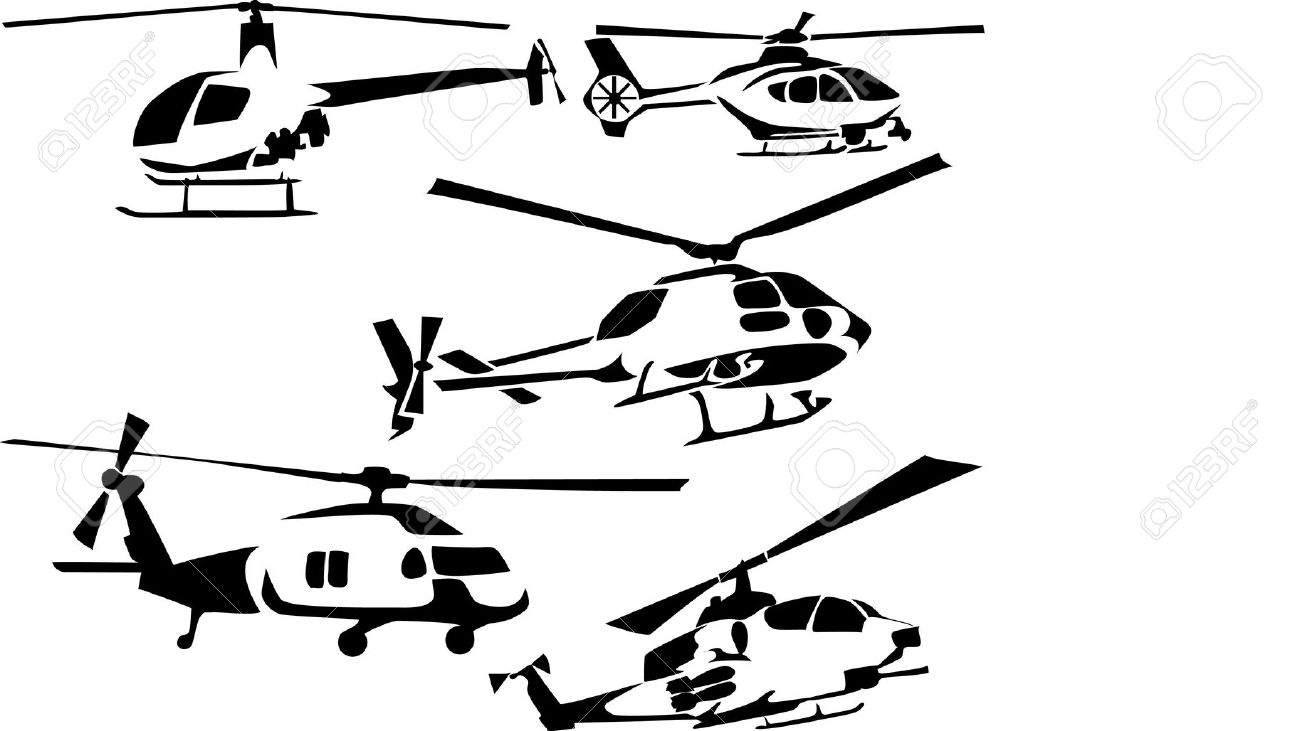 1300x731 Drawn Helicopter Rescue Helicopter