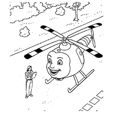 230x230 Helicopter Coloring Pages