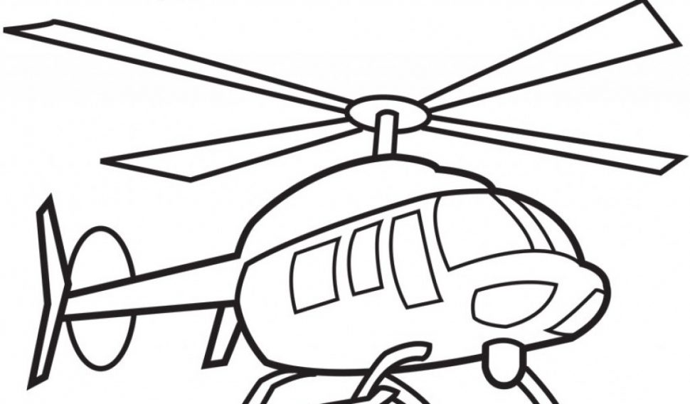 970x568 Coloring Pages Coloring Pages Draw A Helicopter Drawing Clipart