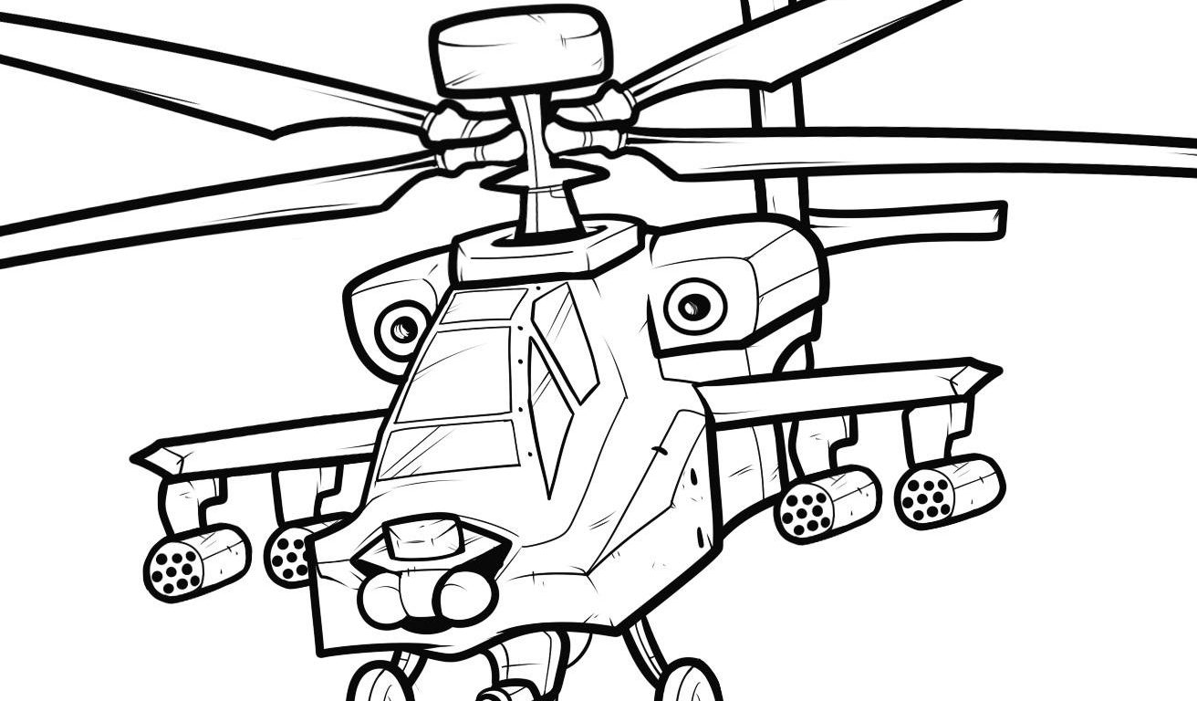 1312x768 Free Printable Helicopter Coloring Pages For Toddler Best Kids