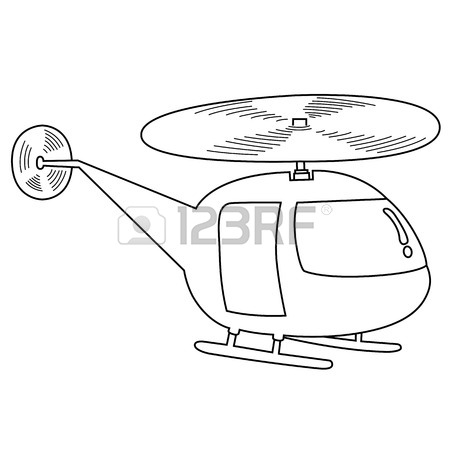 450x450 Toy Helicopter Coloring Page Royalty Free Cliparts, Vectors,