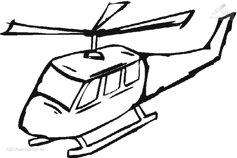 756x504 Coloring Pages Draw A Helicopter Fahrzeuge Hubschrauber Ausmalbild