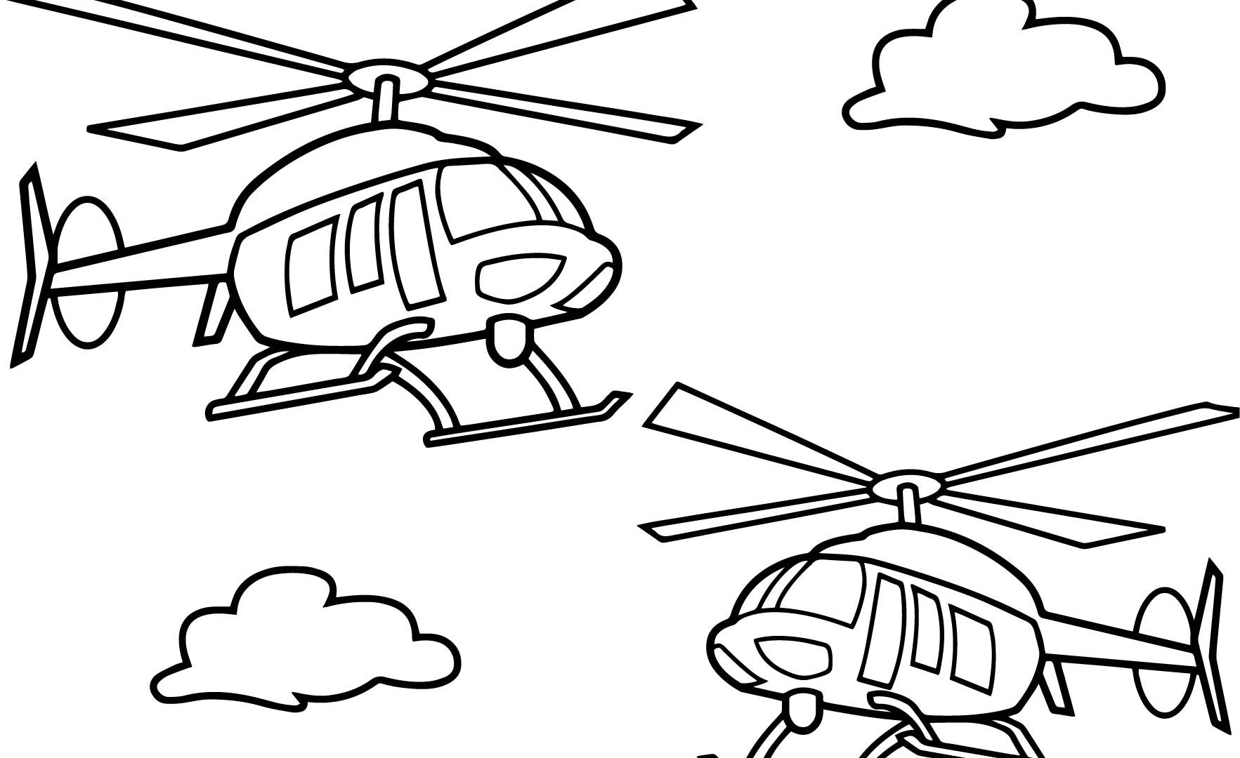 1765x1080 Helicopter Coloring Pages Boys Free Printable Best For Kids Rescue