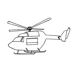 300x300 Monitoring Helicopters Coloring Pages Batch Coloring