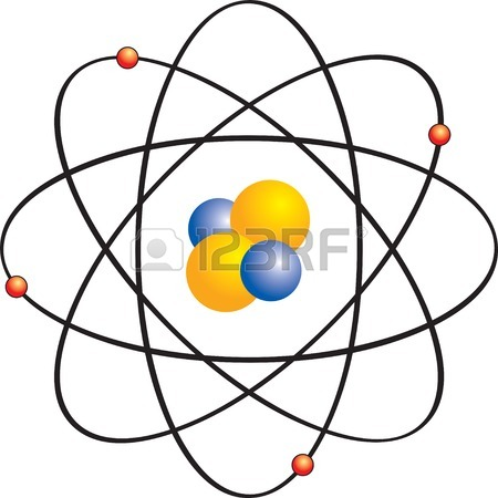 450x450 Structure Atom Helium And Hydrogen Royalty Free Cliparts, Vectors
