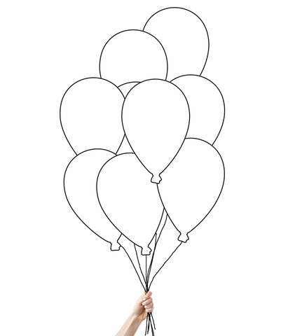 421x480 Helium Filled Mix