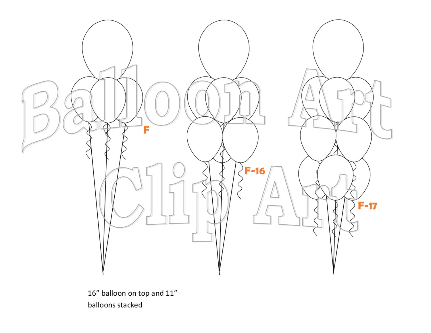 1500x1159 Helium Balloon Bouquet Clip Art, 21 Total In Pub And Pdf