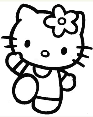 297x374 How To Draw Hello Kitty Step By Step