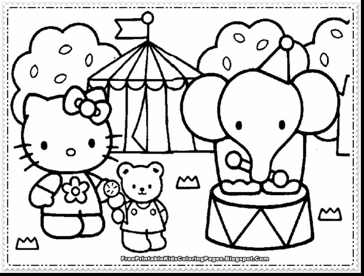 1172x891 Terrific Cute Hello Kitty Coloring Pages