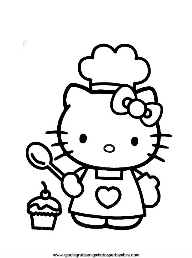 640x860 Hello Kitty Coloring Sheets Hello Kitty, Kitty
