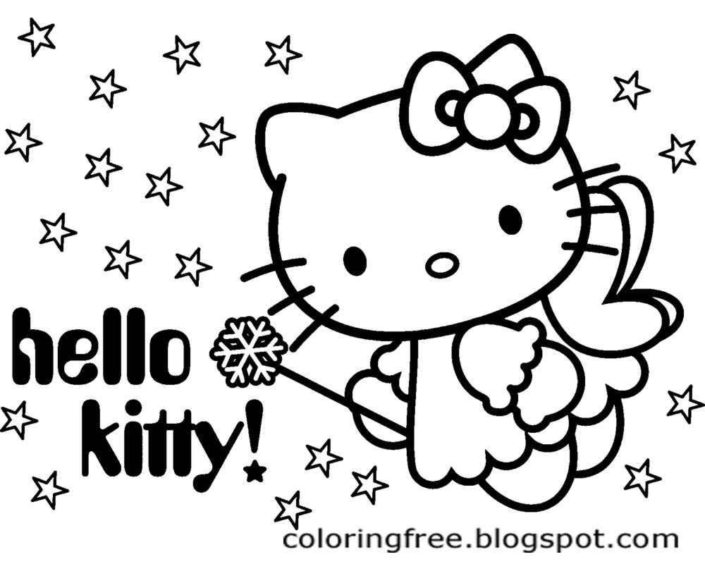 1000x800 Lets Coloring Book Hello Kitty Coloring Sheets Free Cute