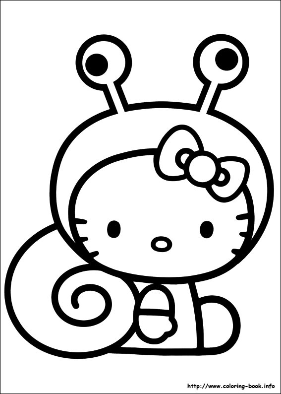 567x794 Easy To Draw Hello Kitty Coloring Page Free Download