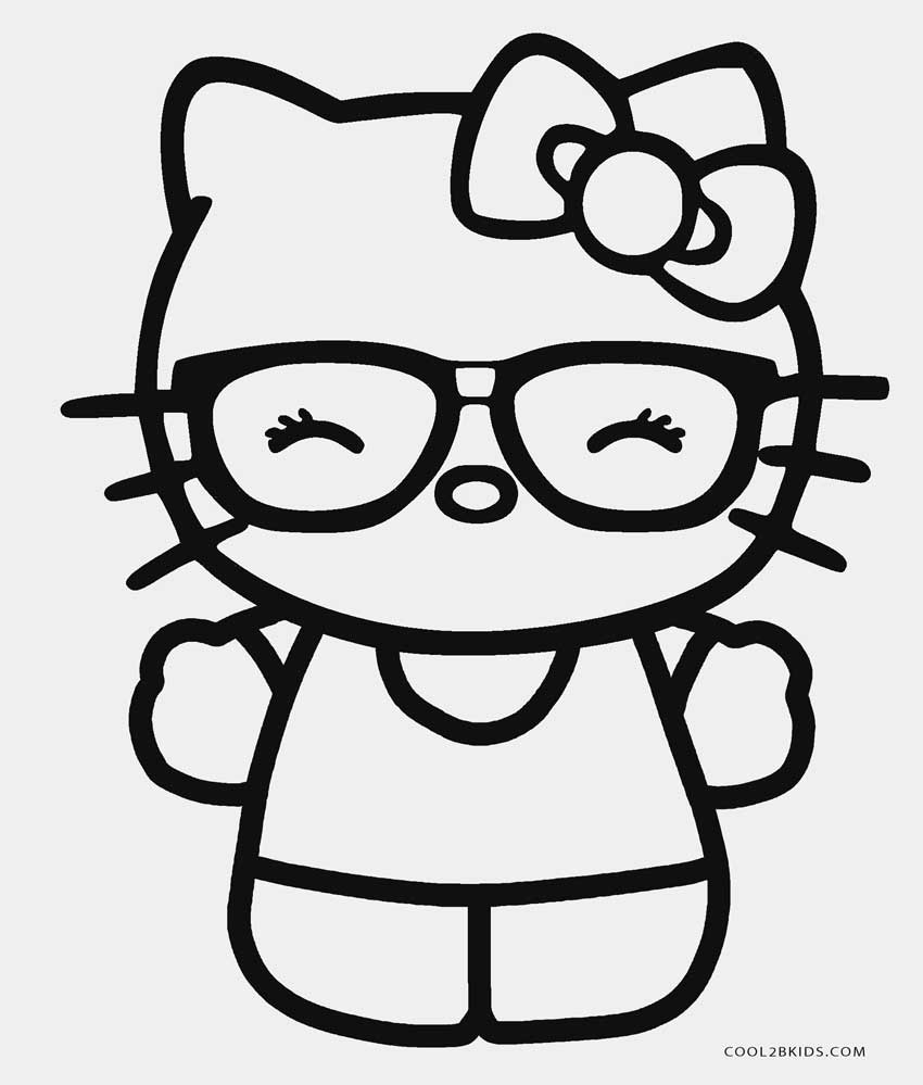 850x999 Free Printable Hello Kitty Coloring Pages For Pages Cool2bkids