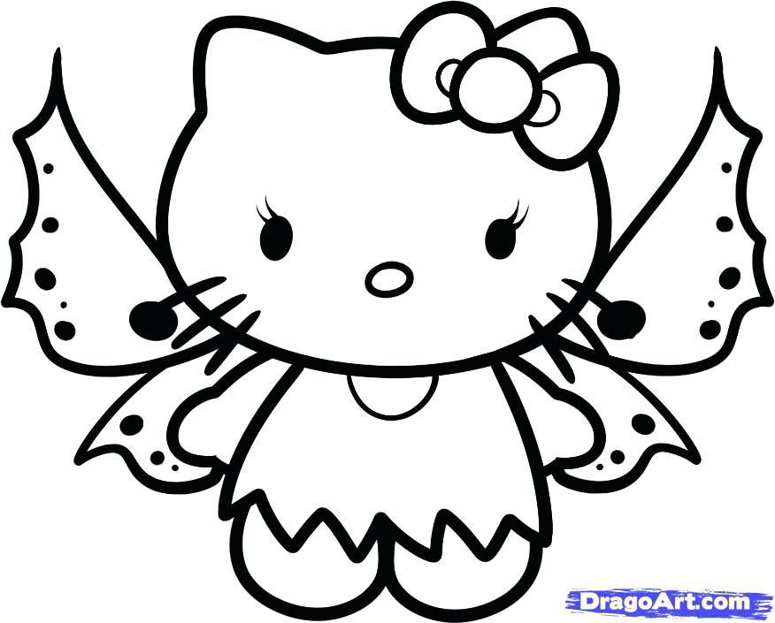876x705 Kitty Pictures To Color Hello Kitty Pictures To Color Christmas
