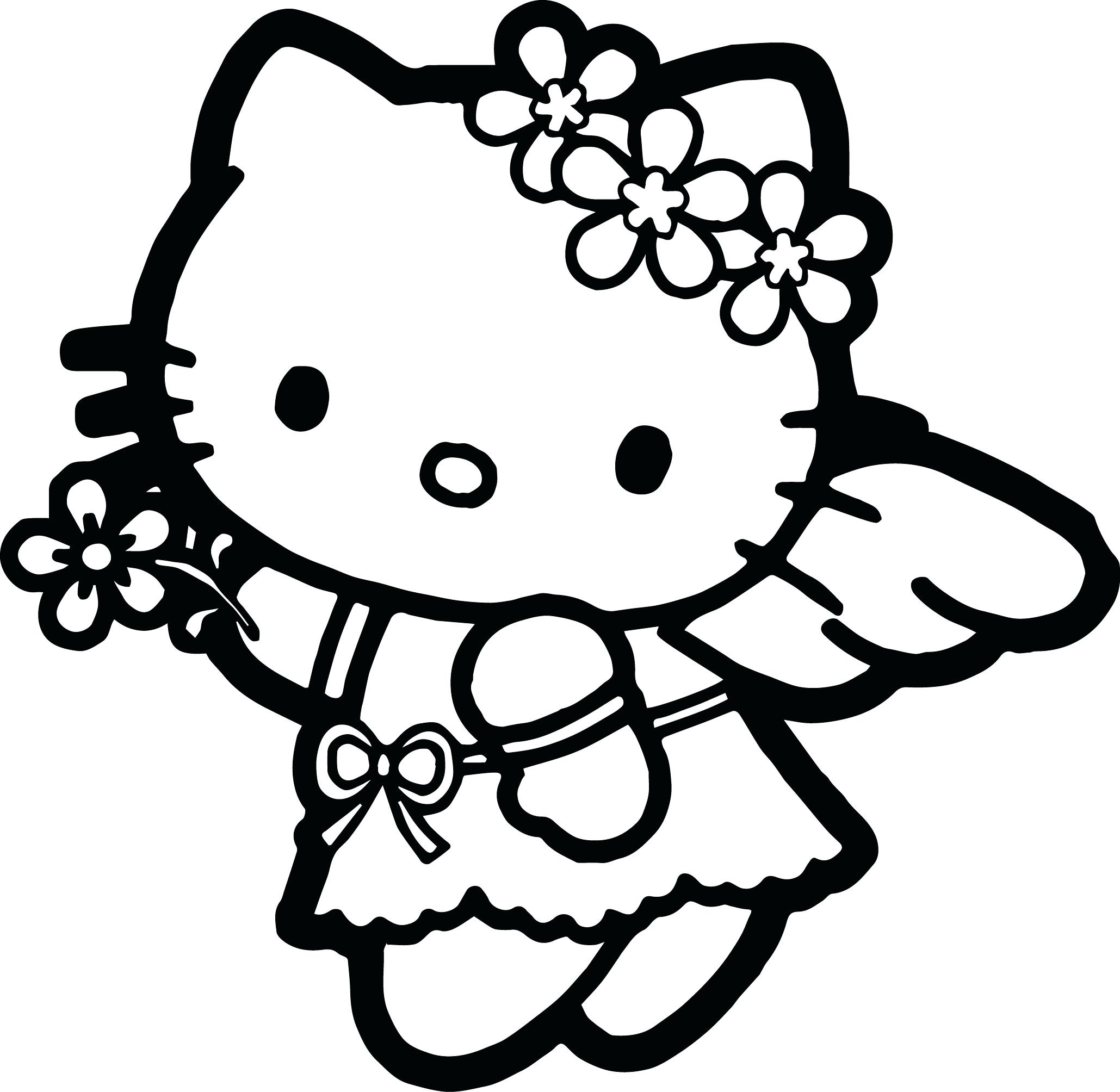2059x2008 Coloring Coloring Page Hello Kitty Drawing Pages Printable
