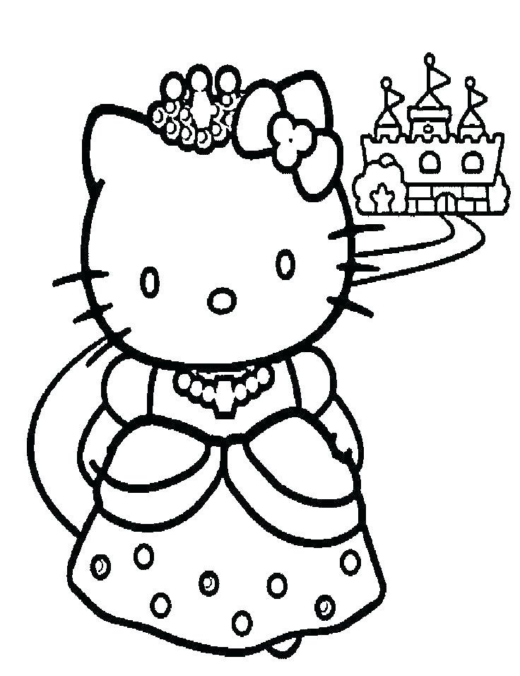 736x956 Hello Coloring Pages Kitty Sheets