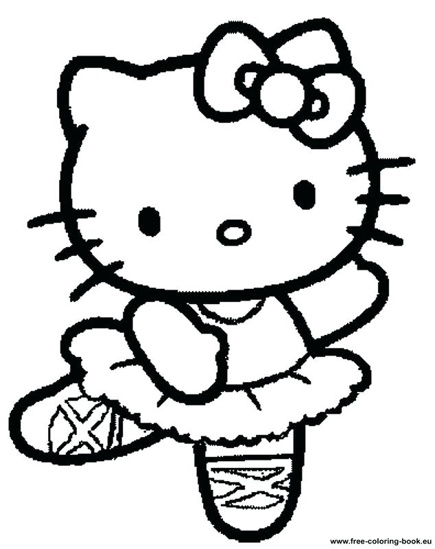 634x800 Beautiful Hello Kitty Coloring Page Kids Pages Color For New Free