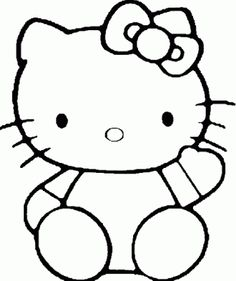 236x281 How To Draw Hello Kitty