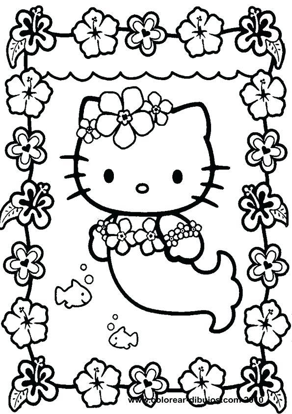 595x842 Coloring Printables For Kids Hello Kitty Coloring Kitty Printable