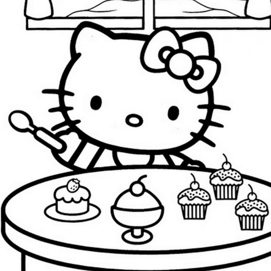 Hello Kitty Drawing Picture