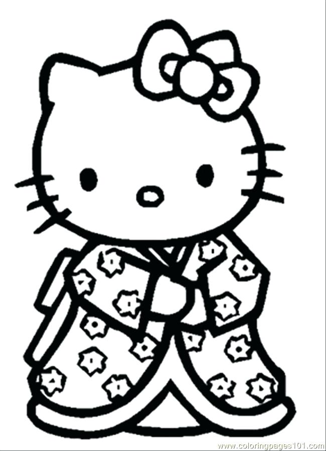 650x899 Hello Kitty Coloring Pages Happy Easter Best Ideas On Cafe Drawing