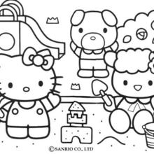 220x220 Hello Kitty Coloring Pages, Free Online Games, Videos For Kids