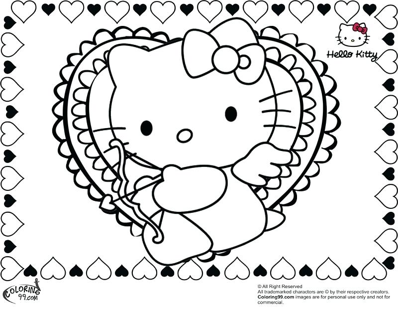 800x620 free coloring pages hello kitty valentine in plans 2