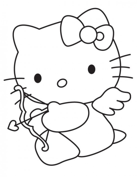 Hello Kitty Face Drawing at GetDrawings.com | Free for personal use ...