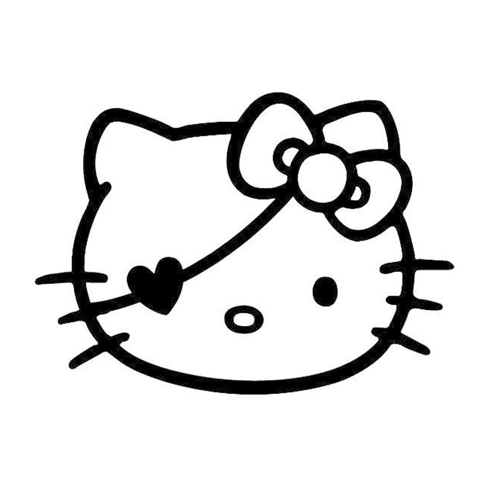 Hello Kitty Love Ausmalbilder : Hello Kitty Face Drawing At Getdrawings Com Free For Personal Use