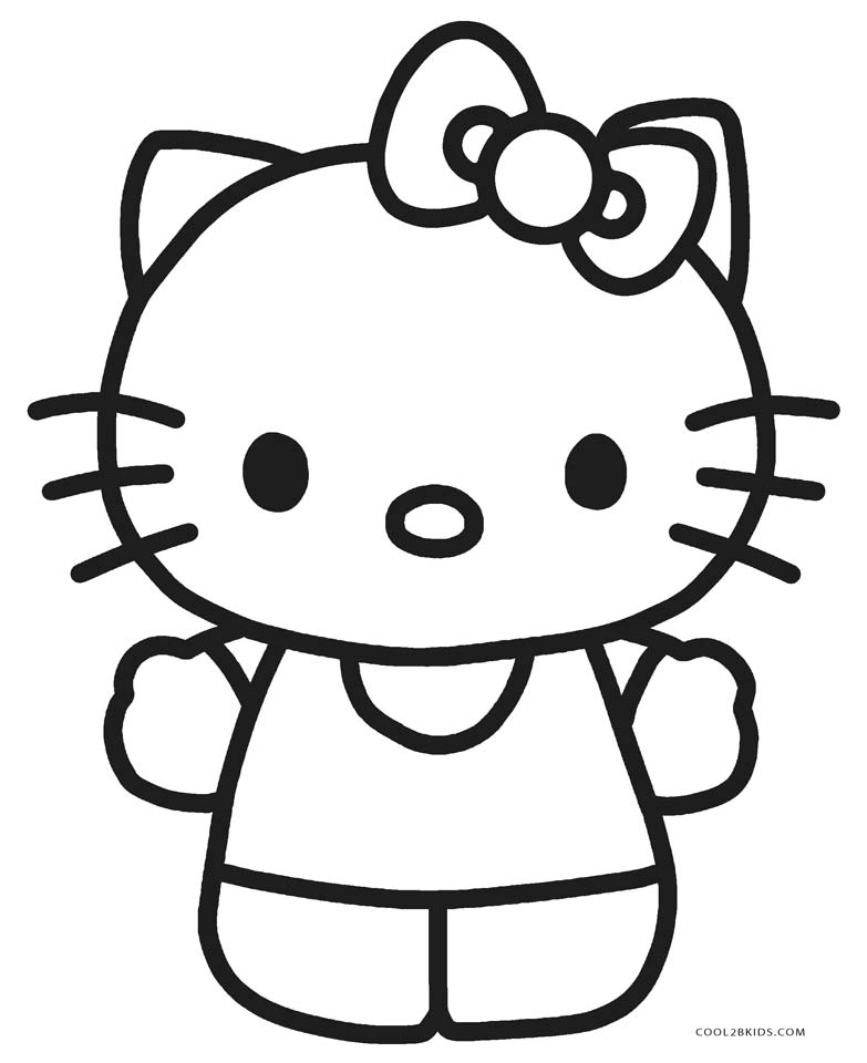 783x960 Free Printable Hello Kitty Coloring Pages For Cool2bKids