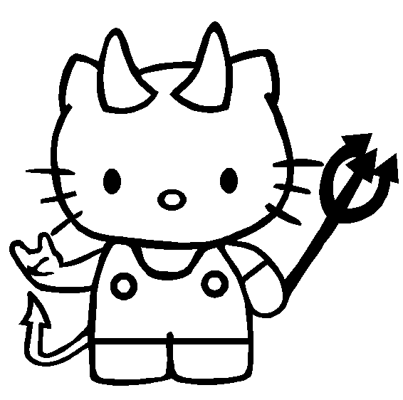 566x562 Hello Kitty Coloring Pages 2