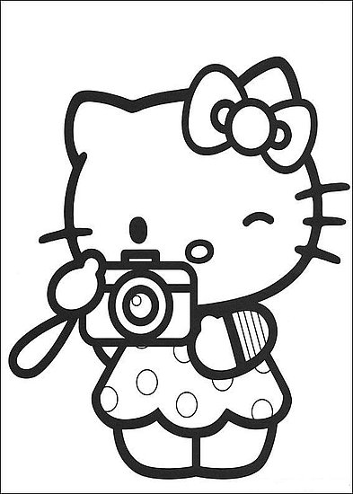 393x550 Disney Thanksgiving Coloring Pages Hello Kitty Hobby